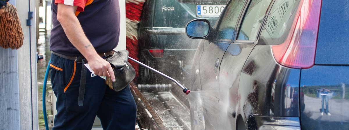 Bidebarri lavado vehiculos