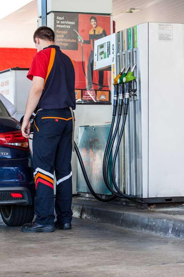 gasolinera Bidebarri